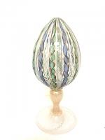 Egg in Glass Filigree