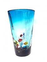 Aquarium Vase Light Blue in Glass